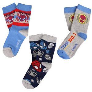 Marvel Boys - Spiderman -Socks Pack - Multi
