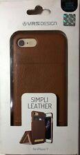 VRS Design Simpli Leather Iphone 7 Card Slot Case Cover w/Kickstand Brand NEW