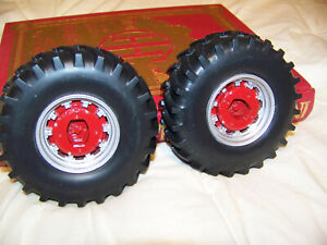 Parts, Prestige International 1456 wheatland rear wheels, 1/16, Ertl, Custom IH