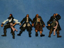 PIRATES OF THE CARIBBEAN ACTION FIGURES x4 WILL TURNER