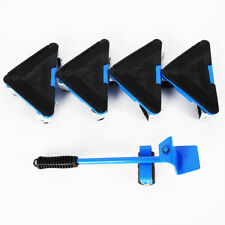 New listing Furniture Lifter Moving Sliders Tool Set Lifting System 4 Wheeled Corner Movers