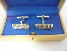 Stunning Rare Vintage Links of London Sterling Silver Mobile Phone Cufflinks