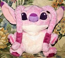 "Lilo Stitch 7"" Angel plush toy Pink purple Disney Parks Girl Friend Experiment"