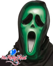 LICENCED GHOST FACE FADE IN OUT LIGHT UP SCREAM MASK Halloween Movie Mask 1550G