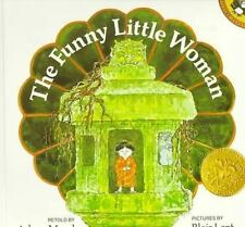THE FUNNY LITTLE WOMAN by Arlene Mosel FREE SHIPPING paperback children's book a