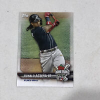 Ronald Acuna Jr 2021 Topps Series 1 Home Run Challenge Braves