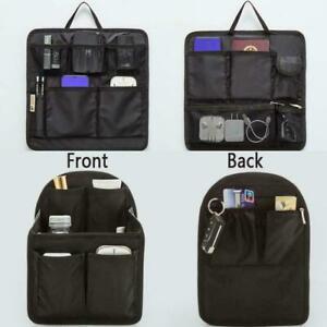 Backpack Liner Bag Women Travel Insert Multifunctional Organizer Travel Bag~