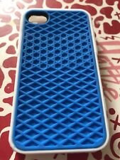 Iphone 4/4s Vans Rubber Waffle Phone Case Blue And White, Brand New