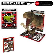 Jurassic 4D Wooden Dinosaur Puzzle With Augmented Reality App  ~ T Rex