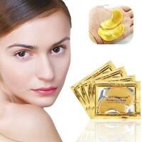 5x Crystal Collagen Golden Eye Mask Anti-Aging Face Care Sleeping Eye Patches;