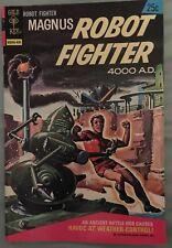 MAGNUS ROBOT FIGHTER 36 VG+ GOLD KEY