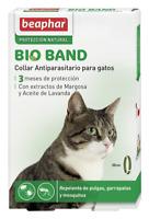 Collar antiparasitario - Beaphar BIO BAND (MARGOSA) - GATO - 35 CM