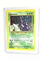 HERACROSS - 6/111 - Neo Genesis - Holo - Pokemon Card - EXC / NEAR MINT