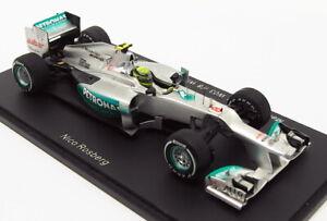 Spark 1/43 Scale S3043 - F1 Mercedes AMG W03 Winner Chinese GP 2012