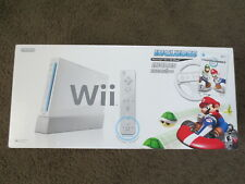 BRAND NEW Nintendo Wii Mario Kart Racing Bundle White Console System