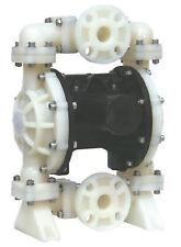 """Diaphragm Air Pump Teflon Polypropylene 1.50"""" NPT Double Diaphragm Teflon"""
