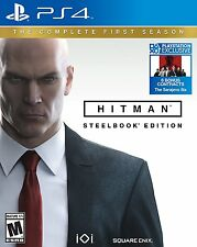 Hitman: The Complete First Season (Sony PlayStation 4, 2017) Steelbook Edition