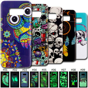 Fluorescence Luminous TPU Soft Back Case Cover For Samsung Galaxy S6 S7 edge S8+