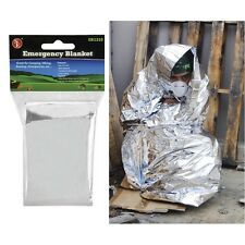 10 Units Mylar Emergency Blanket Survival Camping Hiking First Aid Responder