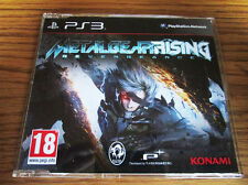 Metal Gear Solid Rising Revengeance PROMO – PS3 (Full Promotional Game) KONAMI