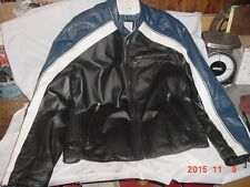 Wilson's Leather motorcycle jacket, leather. XL     15-16
