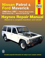Nissan Patrol & Ford Maverick  Petrol & Diesel 1988-1997 with MPN HA72760