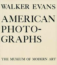 Walker Evans: American Photographs by Kirstein, Lincoln