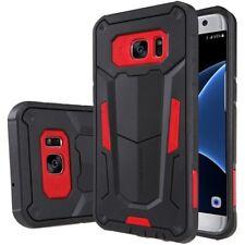 Samsung Galaxy S7 Edge Trekking Handy Tasche Defender II Hülle Cover Bag Rot