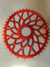 Absolute Black Oval Narrow-Wide Direct Mount Chainring - 44t, Easton and Cinch