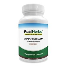Real Herbs Grapefruit Seed Extract PE 4:1 - Equal to 2800mg of Grapefruit Seed