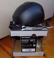 2016 Giro Range MIPS Snowboard Helmet, Matte Black Fabricator, Medium, Brand New