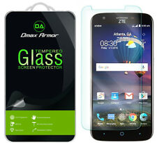[3-Pack] Dmax Armor for ZTE ZMAX Grand LTE Tempered Glass Screen Protector
