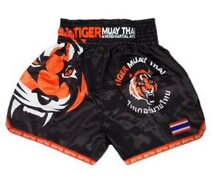 MMA Tiger Muay Thai Boxing Shorts Kickboxing Match Trunk Fighting Pants Fitness