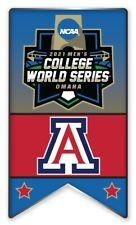 2021 NCAA College World Série Broche Arizona Look Pour Program & Patch En