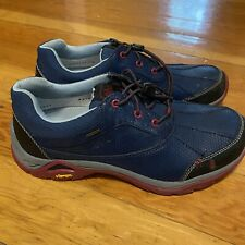 Ahnu Calaveras Waterproof Hiking Shoes Low Top Boot Women's Size 7.5 Leather