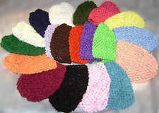 Boutique Crochet Baby Girl Hat/Beanie 3-18m NEW x 1each