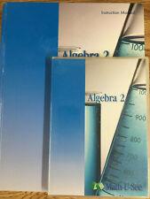 Math U See - Algebra 2 - Teacher's Manual & DVD