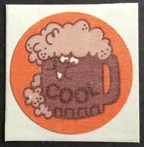 Vintage 80s Matte Trend Scratch & Sniff Sticker - Root Beer - Mint!!