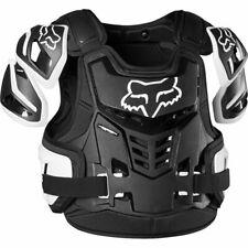 Fox Raptor Vest Motocross Body Armour Adult Black/White Sizes  S/M & L/XL
