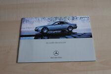 107961) Mercedes CL 500 600 55 AMG Prospekt 05/2002