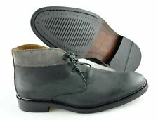 Men's COLE HAAN 'Colton' Gray Leather Chukka Boots Size US 8 - W