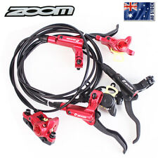 ZOOM MTB Bike Hydraulic Disc Brake Bicycle Front&Rear Brake Calipers Adapter AU