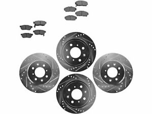 For 1994-2001 Acura Integra Brake Pad and Rotor Kit Front and Rear 51144YS 1999