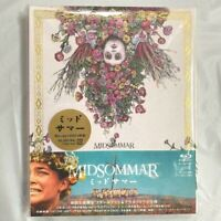 Rare Midsommar Deluxe Edition 4K ULTRA HD+2 Blu-ray+Steelbook Post Card Japan