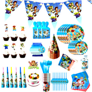 Toy Theme Birthday Story Decorations Supplies Party Plate Napkin Banner