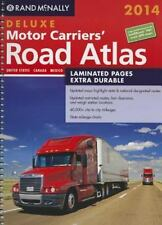 2014 Deluxe Motor Carriers' Road Atlas DMCRA - Laminated Rand Mcnally Motor C