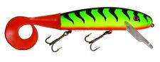 "New Musky Mania 9"" Squirrely Jake Pike Crankbait Lure Firetiger SQJ9-12"