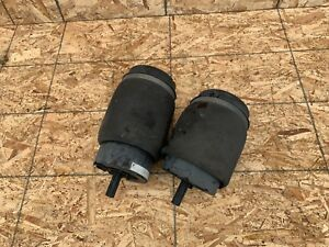 RANGE ROVER L322 HSE (06-12) SET LEFT RIGHT REAR AIR BAG SUSPENSION SPRING OEM