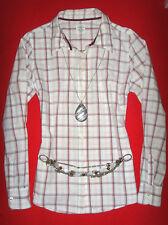 H&M L.O.G.G. BLUSE KARIERT KARO ROCKABILLY ROMANTIK BOHO 42 44 L NEUW.!! TOP !!!
