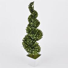 Fiori e piante finte albero verde in plastica per la decorazione della casa